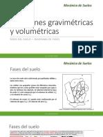 3. Relaciones Volumétricas y Gravimétricas