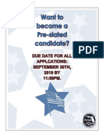 Pre-slated Candidate Flyer 2019