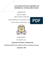 The Determinants Influencing Liquidity of Pakistan's Commercial and Islamic Banks-converted