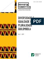 Revista Temática - Diversidade e Igualdade Racial
