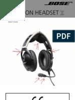Bose Headset Manual