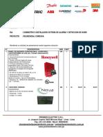 2019-05500 Alarmas y Deteccion de Humo Convencional