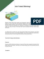 Alat Untuk Hidrologi.docx