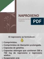 Naproxeno farmacologia