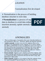 Data Normalisation Ppt
