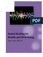 Sound Healing for Health and Well - Being