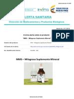 Alerta No. 077-2018 - MMS  Milagroso Suplemento Mineral  (1).pdf