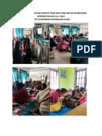 5. Dokumentasi Kegiatan Sdidtk Pada Bayi Dan Balita Di Bkb Desa Seresam Bulan Juli 2019