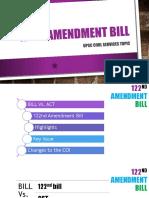 Constitutional 122nd Amendment Bill
