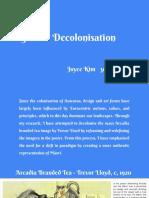 ccdn412  project 1 - decolonisation joyce kim 300494771finalblog