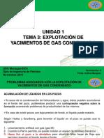 Explotacion de yacimientos de gas condensado