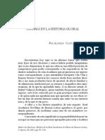 Panamá en la historia global -Alfredo Castillero Calvo