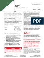 Toro 20005 Mower Operator Manual