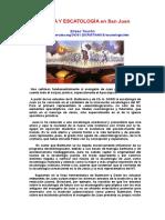04 Parusía y Escatología en San Juan