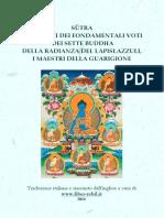 Sutra 7 Buddha Medicina