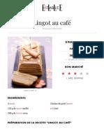 Lingot Au Café