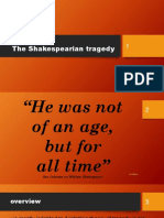 LESSON 1- The Shakespearian Tragedy