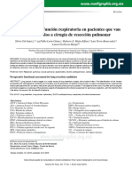 VALORACION PREOPERATORIA EN CIRUGIA DE TORAX