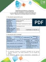 Guía de Actividades y Rúbrica de Evaluación - Fase 2 - Repensar La Sociedad Desde La Sociología