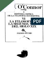 O'Connor, D.J. - Historia critica de la filosofia occidental VI. La filosofia en la segunda mitad del siglo XIX.pdf