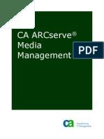 CA ARCserve Media Management