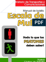 Manual de Bolsillo de Escala de Multas para Peatones | MTC