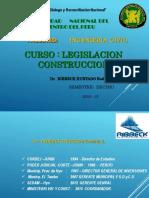 Legislación en la construccion