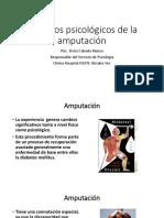 Aspectos Psicológicos de La Amputación
