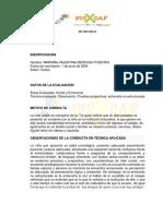 Informe Mariana Berdugo