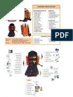 Emergency Kit List Rescue Bag