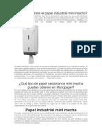 papel industrial
