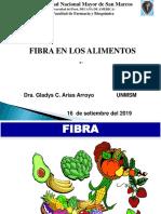 Fibra Bromatologia-2019 - Dra. Gladys Arias