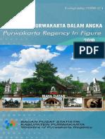 Kabupaten Purwakarta Dalam Angka 2019