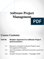 Unit 04 Modern Approach to Software Project and Economics