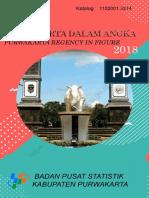Kabupaten Purwakarta Dalam Angka 2018