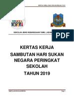 Kertas Kerja Hari Sukan Negara 2019