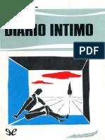 Amiel Henri Frederic - Diario Intimo.epub
