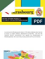 Bienvenue á Strasbourg