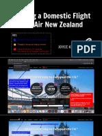 air new zealand booking a flight online final