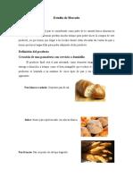 Ejemplo de Estudio de Mercado - Panadería