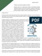 Marco Historico de La Ing. Industrial