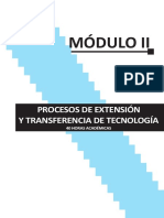 procesos de extension