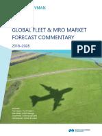 2018-2028 Global Fleet MRO Market Forecast Commentary Public Final Web