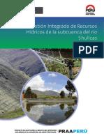Plan de Gestion Integrado de Recursos Hidricos de La Subcuenca Del Rio Shullcas (1)