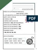 Caderno Da Letra n Materiais Pdg