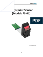 FS-01 Fingerprint Sensor Manual Download