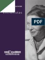 Simone de Beauvoir - Entrevistas.pdf