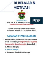 3.Teori Belajar & Motivasi-PEKERTI Angk.65- Nasaruddin Salam