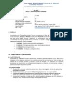 Silabo Derecho Procesal Constitucional i