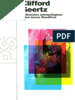 2 Clifford Geertz - Reflexiones antropológicas sobre temas filosóficos(1).pdf